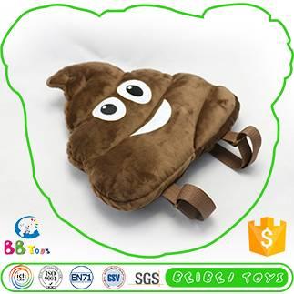brown emoji backpack