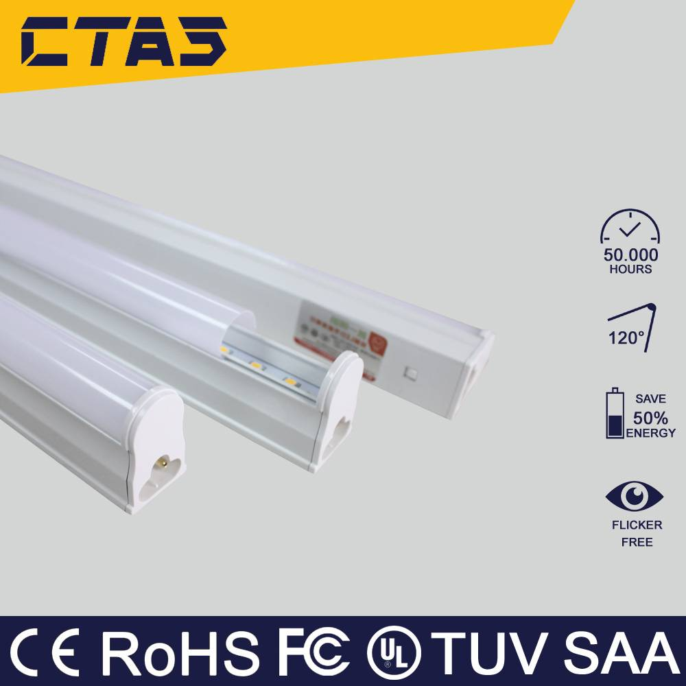 Integrated T5 led tube light 18w 120cm