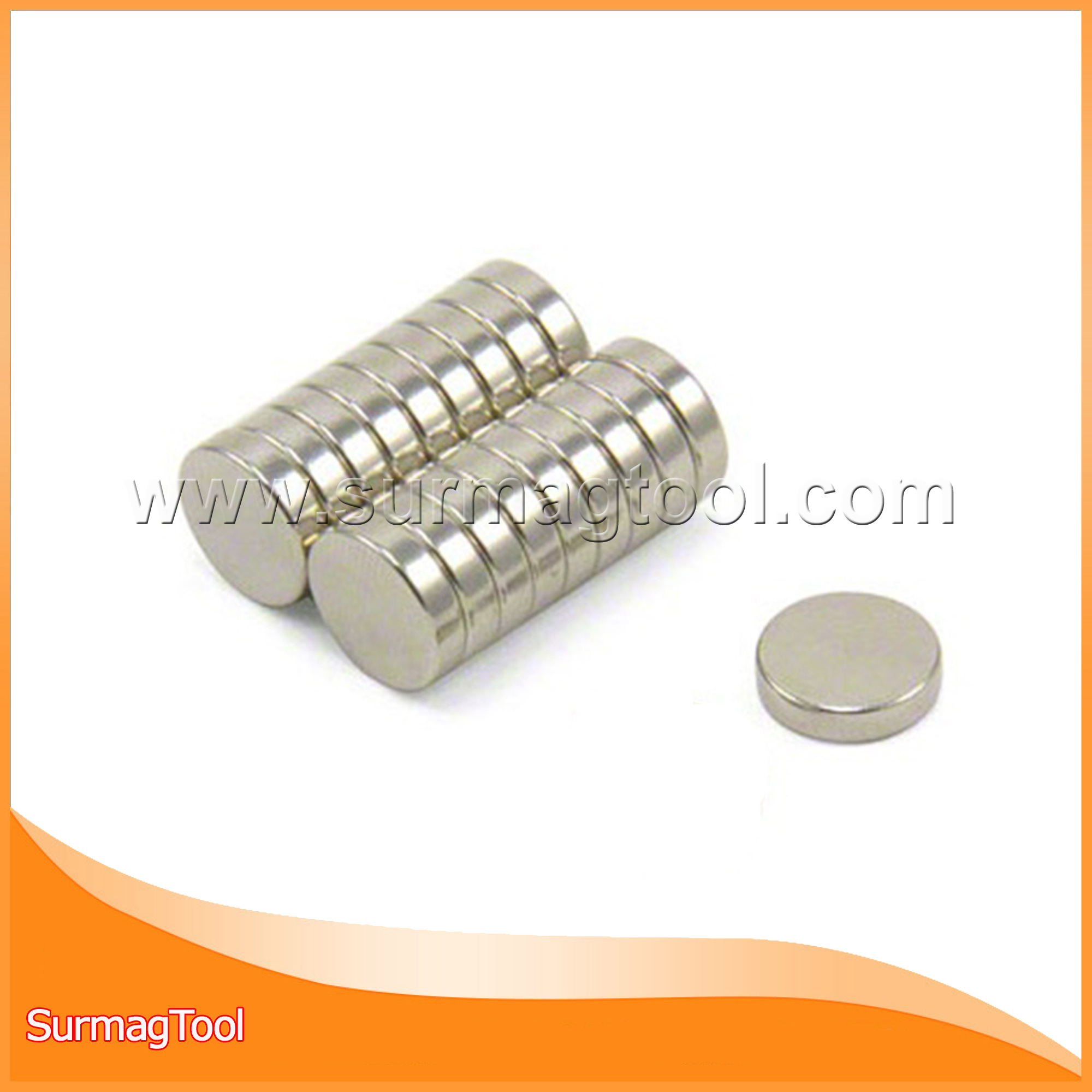 Strong disc permanent ndfeb magnets