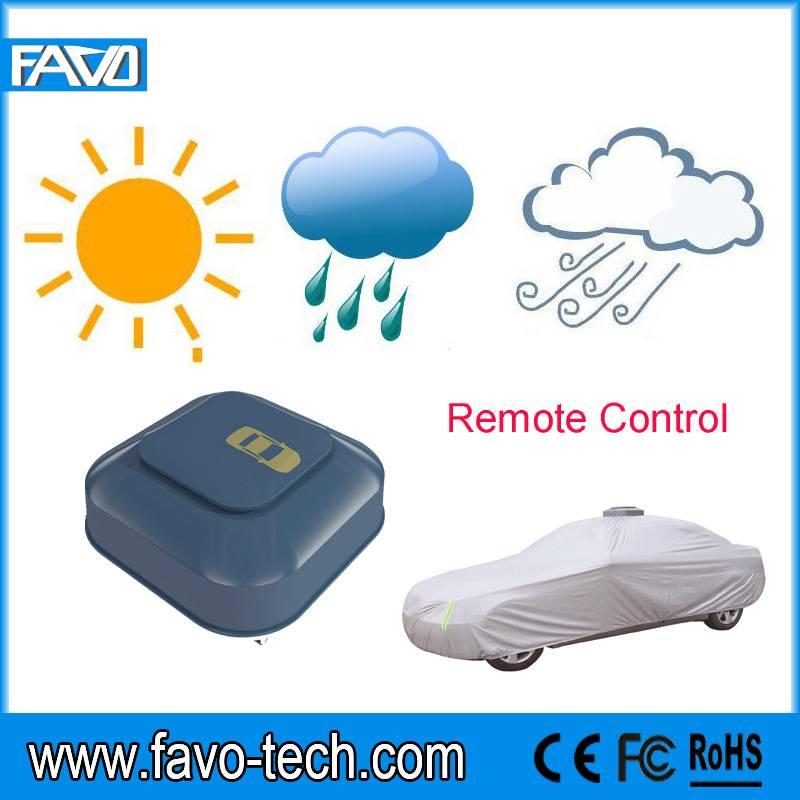 fashion design electrical remote control automatic car cover