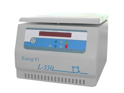 L-550 table-top low speed large capacity centrifuge