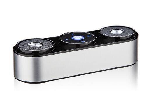 2016 New Bluetooth Speaker with Logo 3D Stereo Surround and Deep Bass Music Wireless Outdoor Speaker