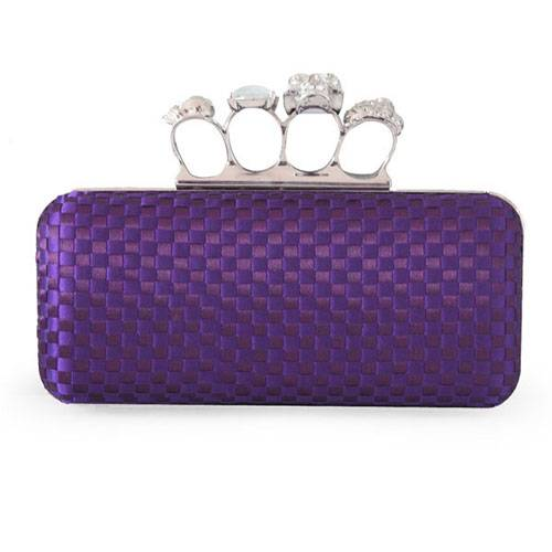 Silk Plaid Evening Handbags/ Clutches More Colors Available