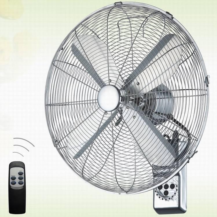 18 Inch 45CM Metal Remote Control Wall Fan