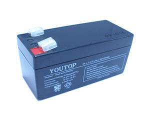 12V 1.3A lead acid battery