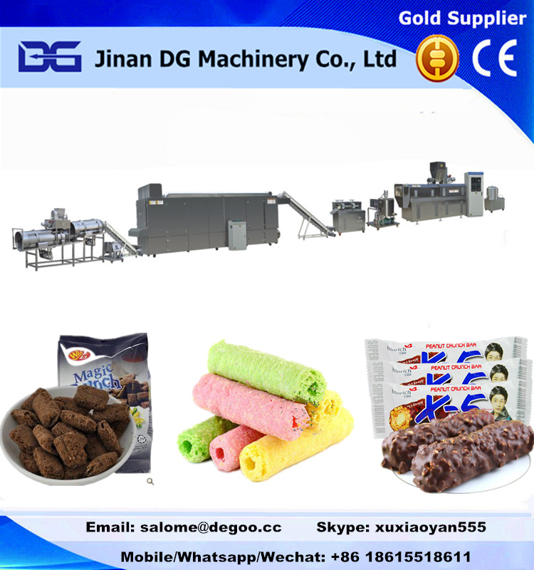 cream core filled/center filling snack food making machine production line