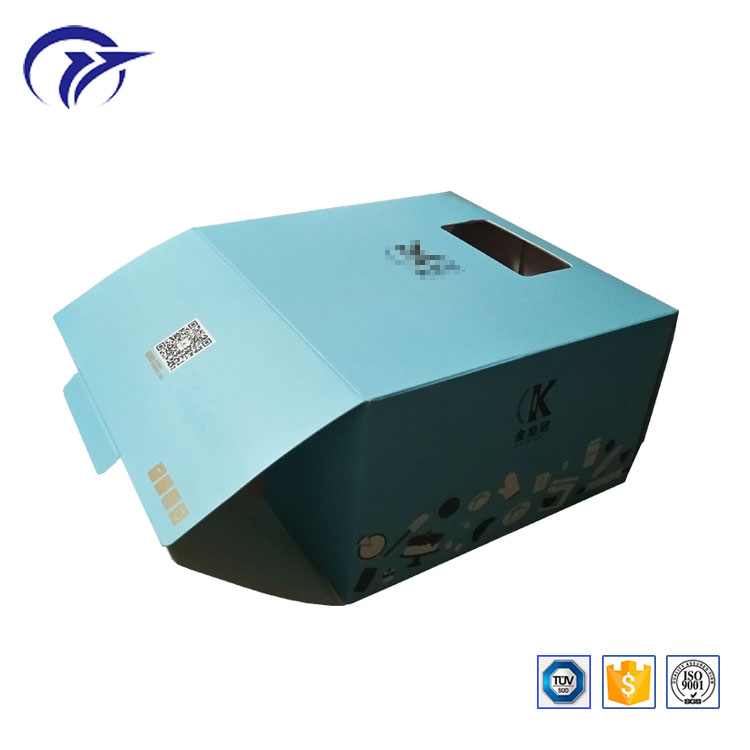 Customized Printing Design Food Snack Cake Packaging Paper Gift Box with window
