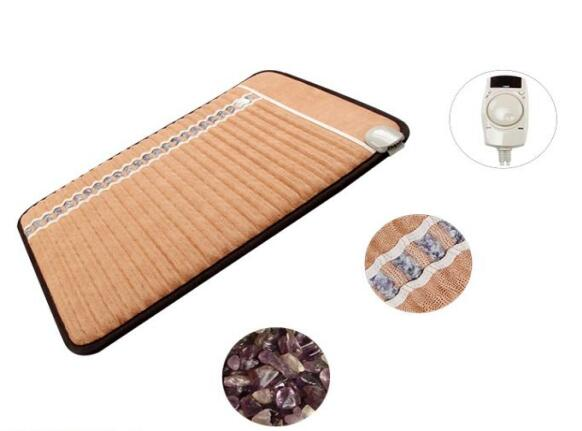Healthy Product Nano Negative Ions thermal mattress Amethyst mat Massage Theraphy Amethyst biomat