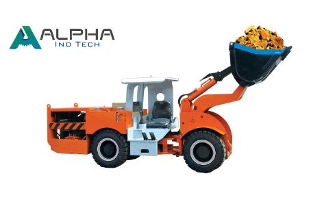 A006D underground mining loader LHD