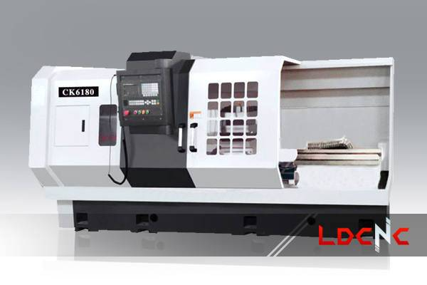 CK6180 light duty CNC lathe machine, Swing diameter over carriage 510mm
