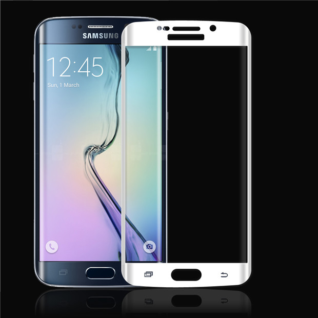 Newest round angle 0.33mm 2.5D 9H Hardness Tempered Glass screen protector for Samsung galaxy s6