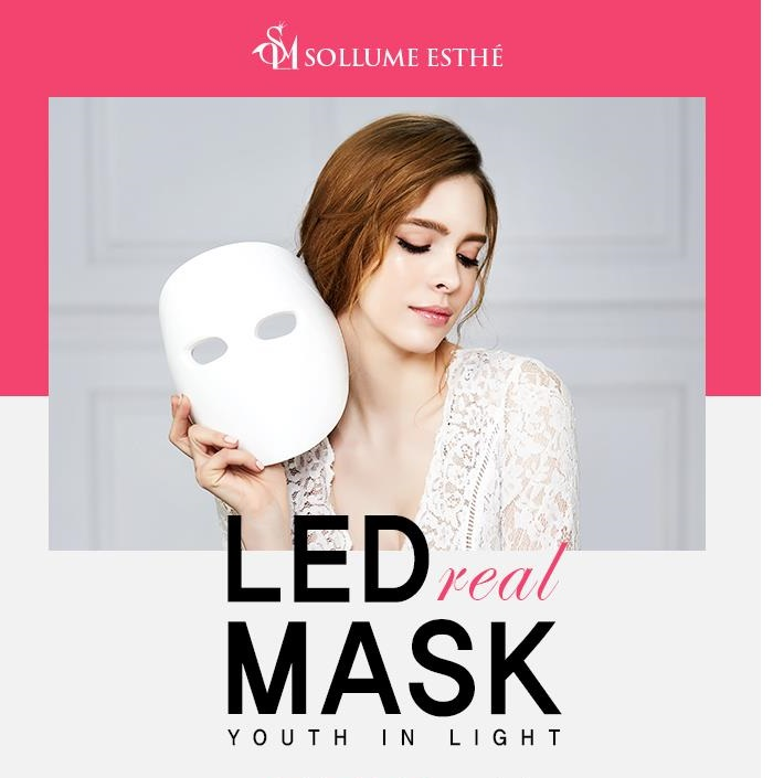 LED REAL MASK
