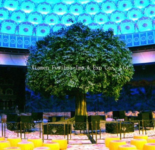 Big Artificial Banyan Tree for Indoor Decoration