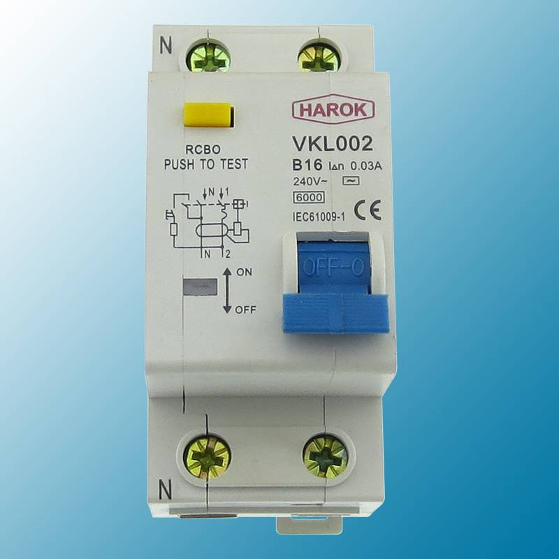 Up To 2P 40A Rcbo Circuit Breaker