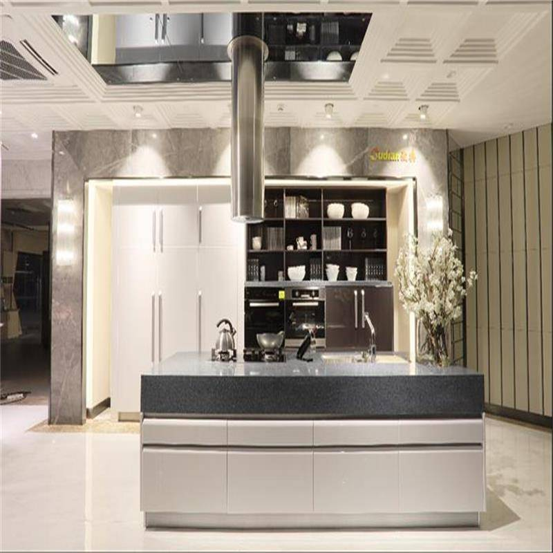 Lacquer kitchen furniture kitchen cabinet