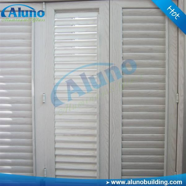 aluminum jalousie window