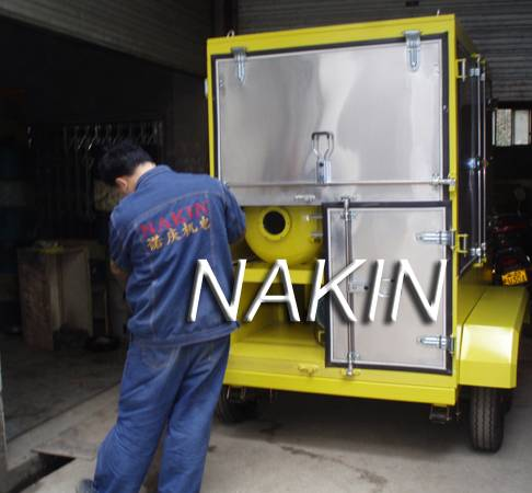 ZYM Trailer Type Insulating Oil Purification Plant