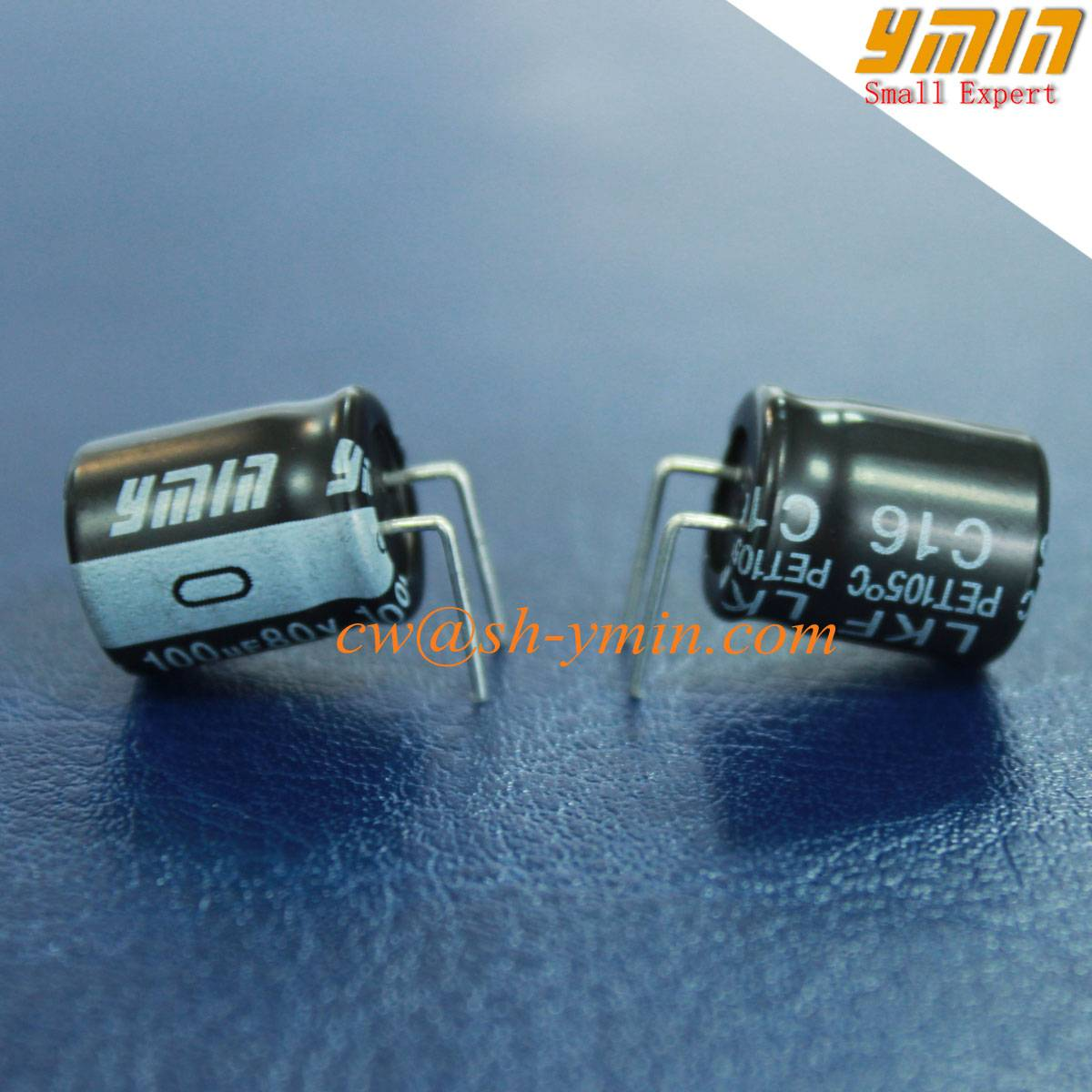 105°C 100uf  80V Capacitor Radial lead Aluminum Electrolytic Capacitor for General Purpose