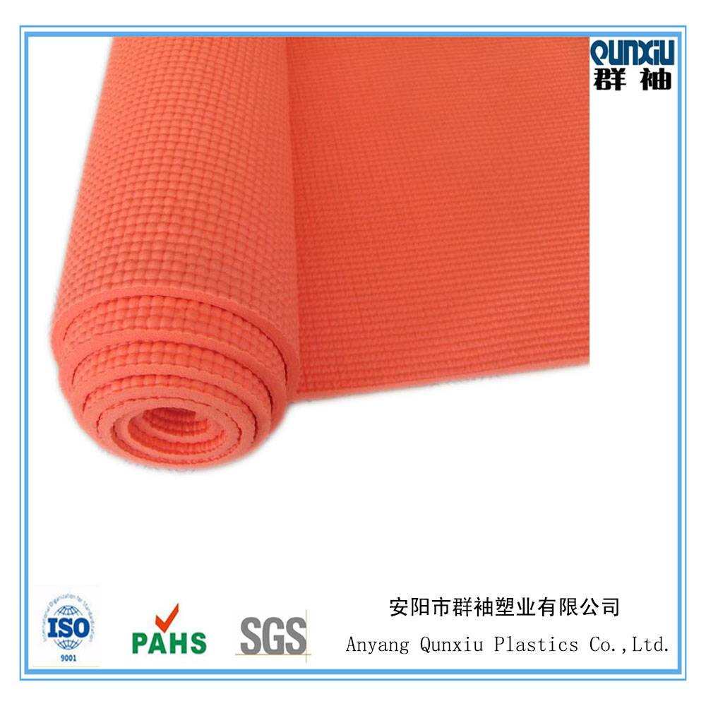 China factory supply PVC foam yoga mat