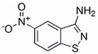 3-AMINO-5-NITRO-2,1-BENZOISOTHIAZOLE  CAS NR. 84387-89-3.