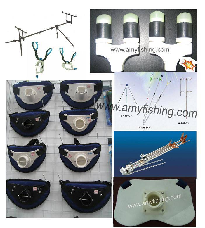 rod holder, rod support, fishing tackle