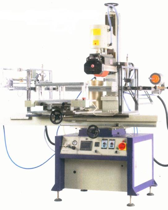 H-700MLP Pneumatic flat/cylindrical heat transfer machine with rubber roller