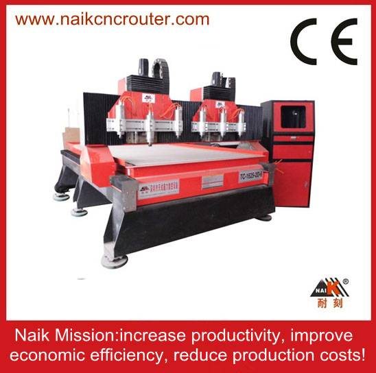 double z axis cnc router machine