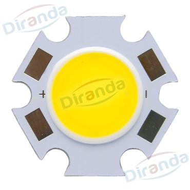 powerful 10w 20w 30w led round cob chip for lamps light