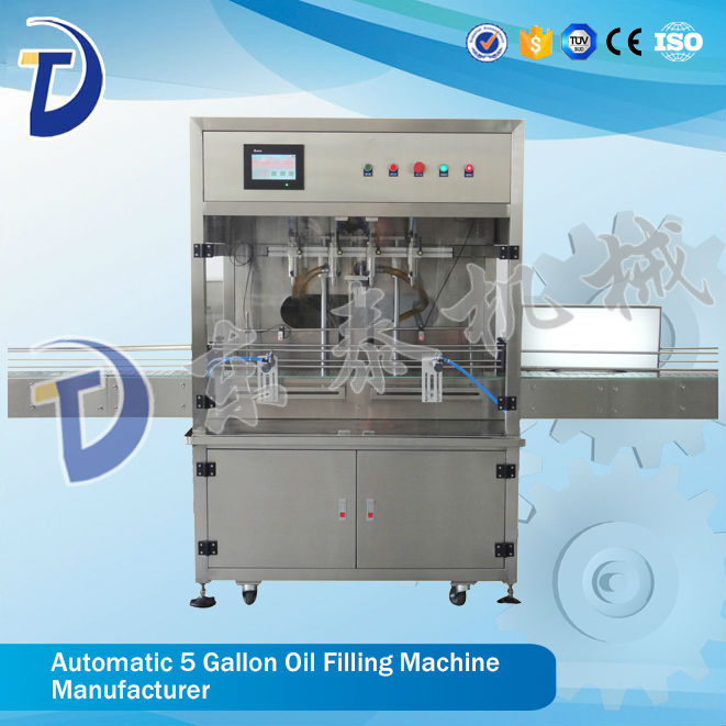 Automatic Filling Machine For Lube Oil