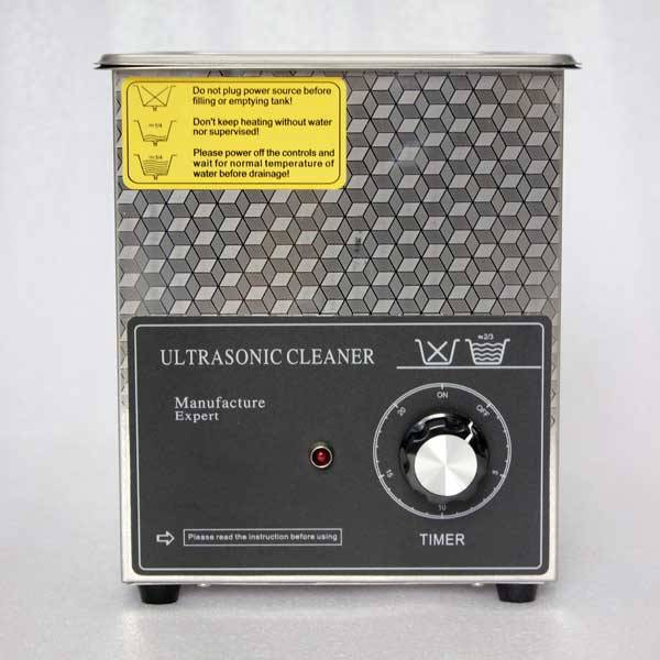 Desktop ultrasonic cleaner
