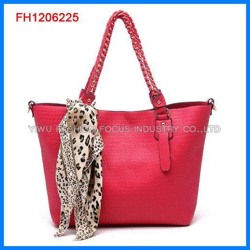 2012 Hot sale fashion lady handbag (FH1206225)