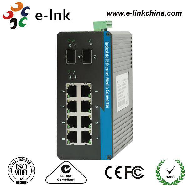 8G+2SFP Gigabit Industrial Ethernet Switch