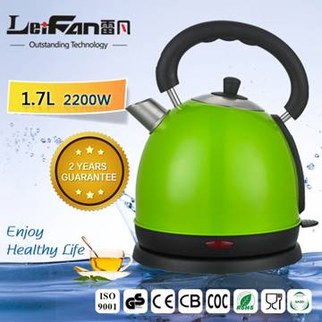 color painting drum shape electrical kettle