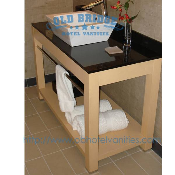 bathroom furniture with solid wood legs