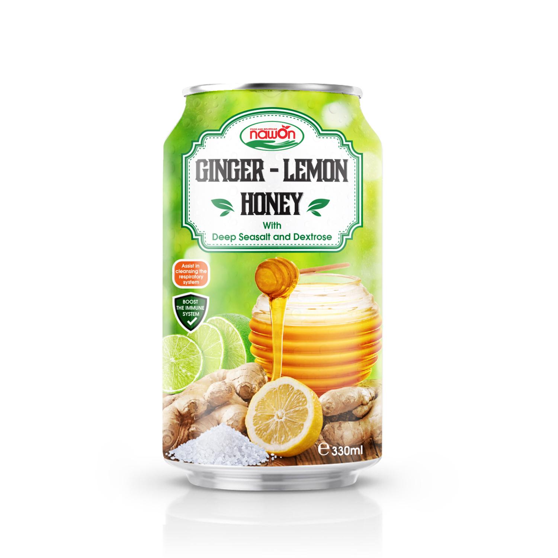 330ml Nawon ginger lemon honey with deep seasalt and dextrose