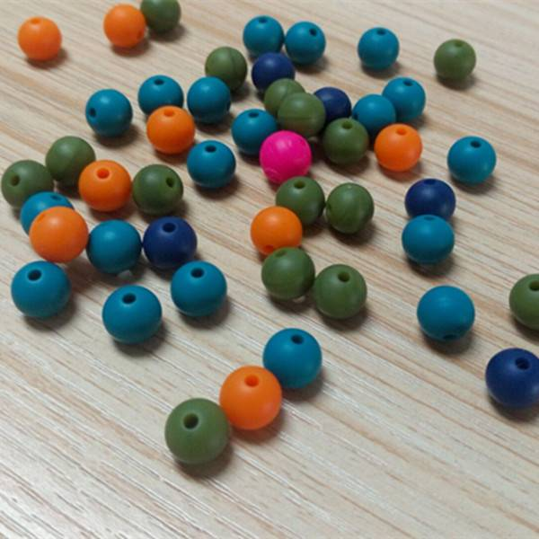 silicone beads, silicone pearl