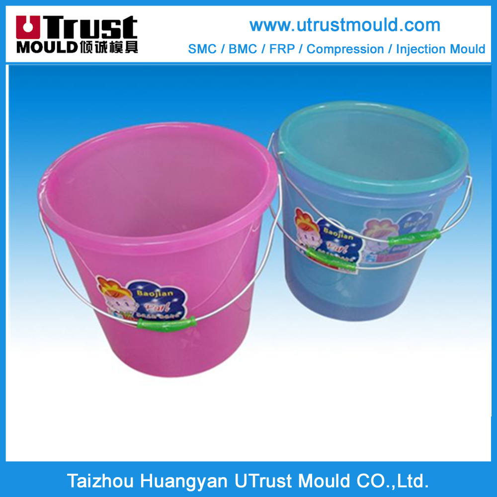 New design UTrust mould plastic injection mould bucket molding