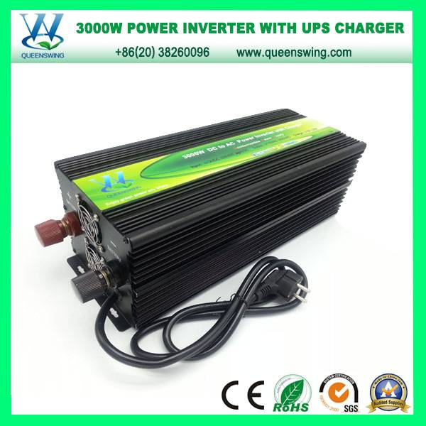 3000W DC12/24/48/72V to AC110/220V Power Inverter with UPS Charger (QW-M3000UPS)