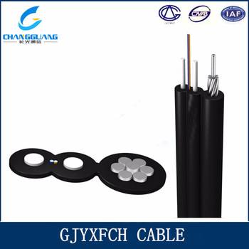 China Factory Price Self-Supporting Bow-Type Drop Fiber Optic Cable with Low Smoke Zero Halogon Flam
