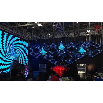 DGX indoor LED display, irregular shape P4