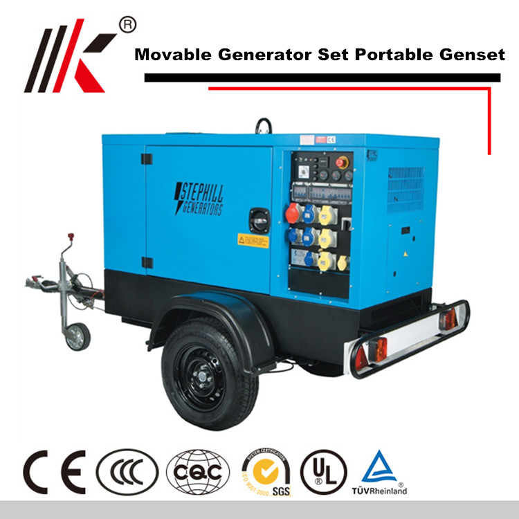 MOVABLE 150KW GENERATOR SET WITH SHAGNCHAI DIESEL ENGINE CONTAINER GENSET DIESEL GENERATOR PRICE