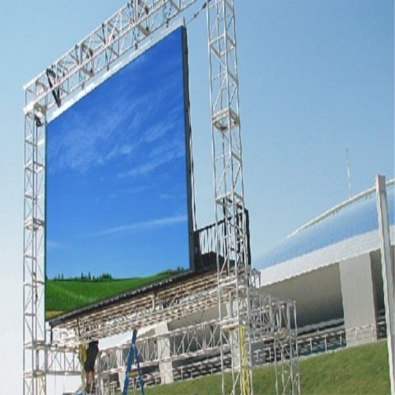 Shanghai factory Best sell smd aluminum led screen 4.81