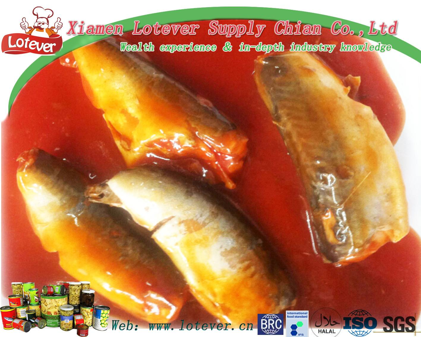 canned fish in tomato sause ,oil,brine