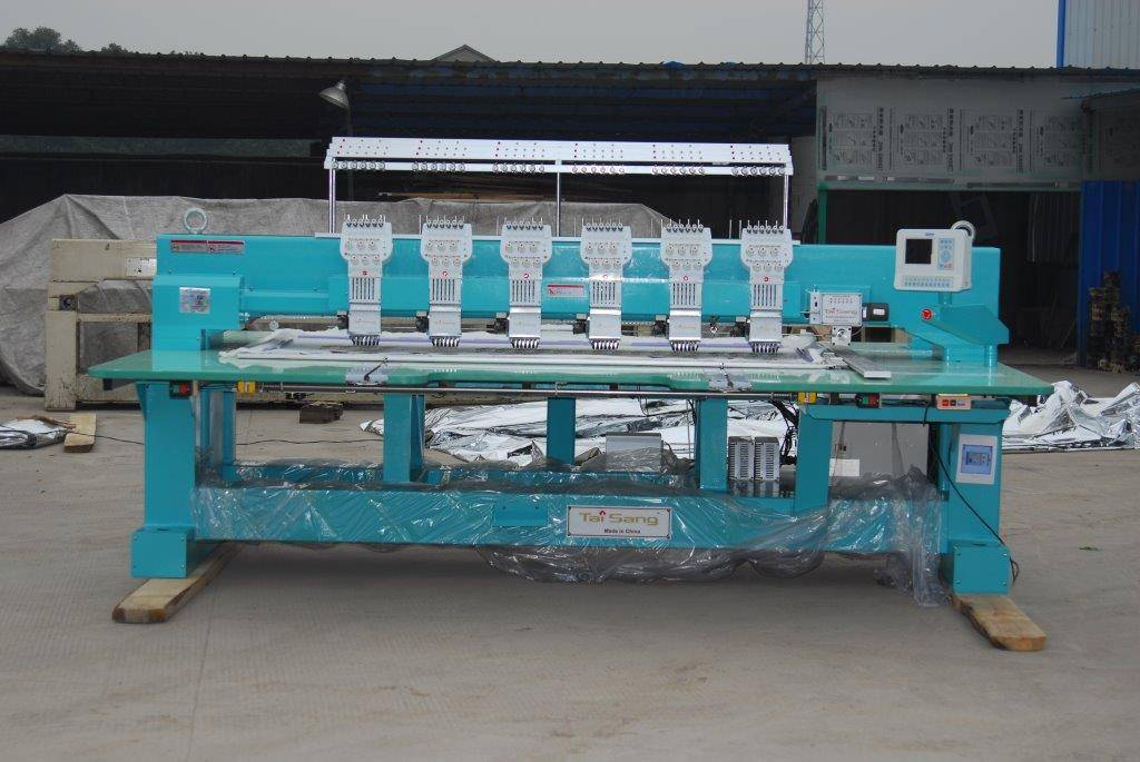 Tai Sang embroidery machine vista model 606