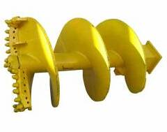 Augers for rocky soil dia. 1000 mm kelly box 130x130 mm