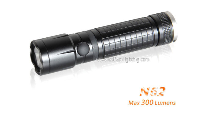 Compact USB Rechargeable Flashlight N62