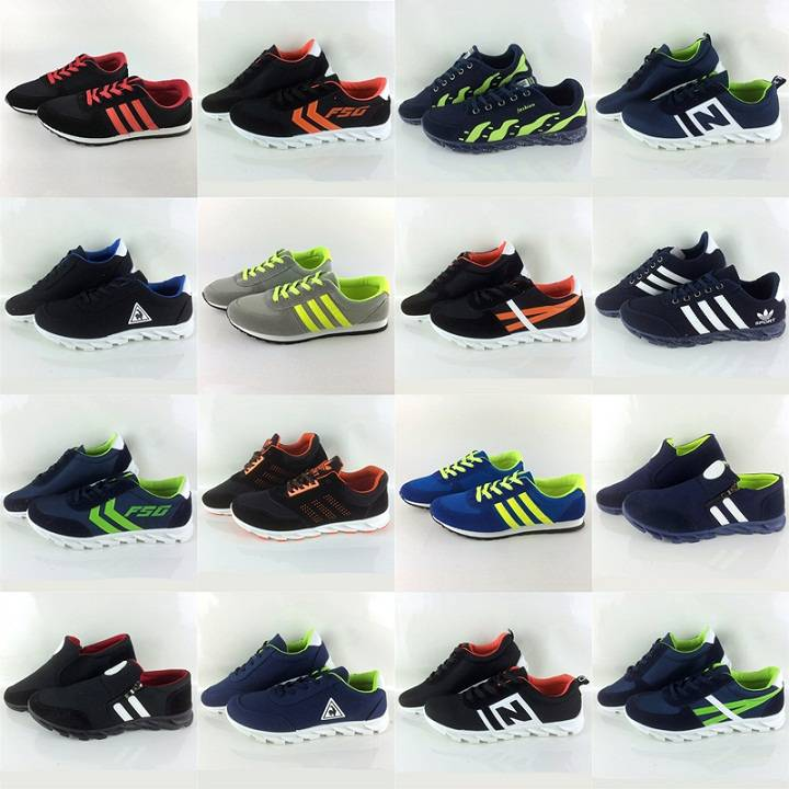 2016 New style fashionable power sports running shoes for men sizes