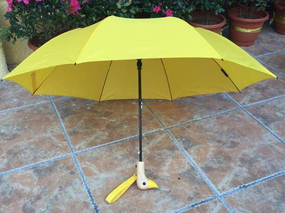 head duck Pongee material umbrella 21inch