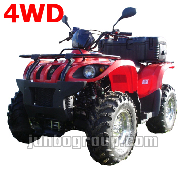 ATV 4WD 500cc CVT with Reverse Gear Kasaski Style