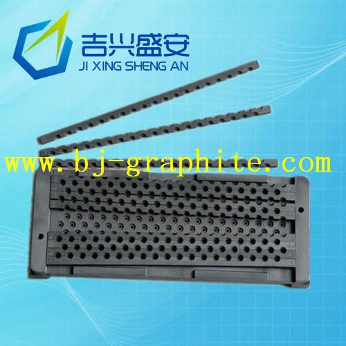 Graphite mould for wire saw